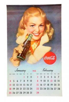 1948 Coca - Cola Calendar