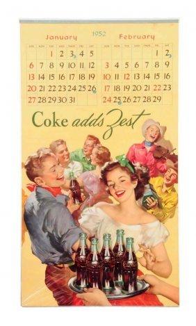 1952 Coca - Cola Calendar.