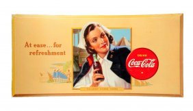 1942 Coca - Cola Army Nurse Large Poster.
