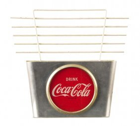 1950's Coca - Cola Lighted Wall Sconce.