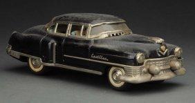 Japanese Friction Tin Litho 1954 Cadillac Sedan.