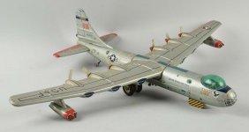 Japanese Tin Convair Us Air Force B-36 Bomber.