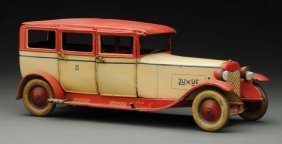 German Lehmann Tin Litho Luxus Car.
