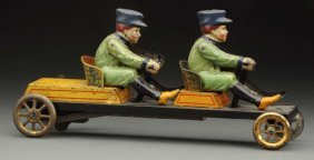 Scarce German Tin Litho Irish Mail Toy.