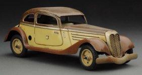 German Tippco Tin Litho Wind-up Mercedes.