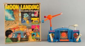 Transogram Battery-operated Moon Landing Toy.