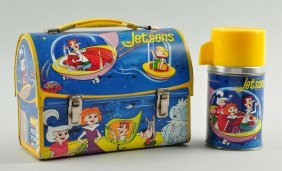 The Jetson's Dome Top Lunch Box.