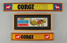 Lot Of 3: Corgi Signs.