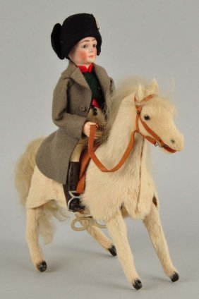 Man And Horse Mechanical Toy.