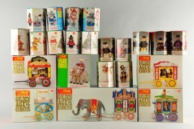 Steiff Golden Age Of The Circus Set.