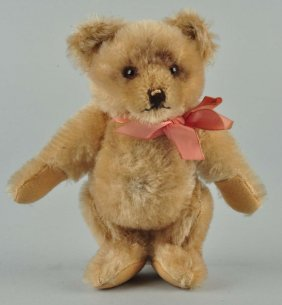 Steiff's Smallest Jackie Bear With Ids.