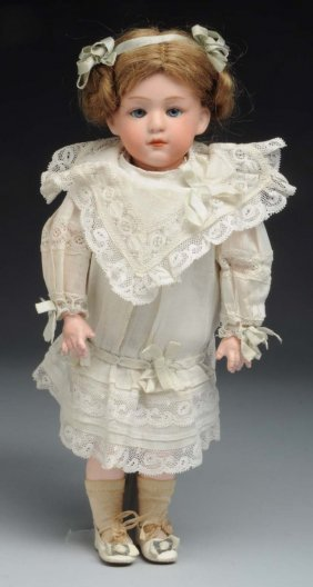 "Heubach Pouty 7"" Character Doll."