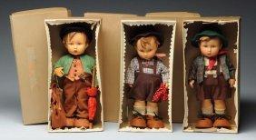 Lot Of 3: Hummel Dolls.