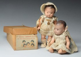 """dionne Quintuplet"" Dolls And Collectibles."