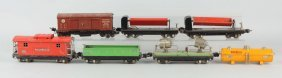 Lot Of 6: No. 2800 Lionel Freight Cars.