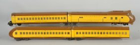 Lot Of 4: Lionel 752 Union Pacific Streamliner Set