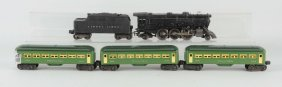 Lot Of 5: Lionel No. 675 Loco & Passenger Cars.