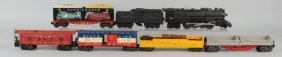 Lot Of 7: Lionel No. 736 Engine & Freight Cars.