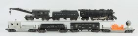 Lot Of 7: Lionel No. 2046 Engine & Freight Cars.