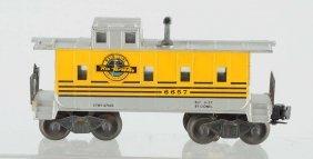 Lionel No. 6657 Rio-grande Caboose.
