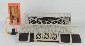 Lot Of 6: Lionel Trestle Bridges & Accessories.