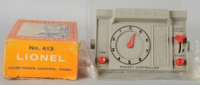 Lionel No. 413 Countdown Control Panel.