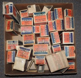 Large Grouping Of Pre War Original Boxes.