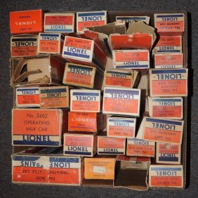 Large Grouping Of Mainly Post War Empty Boxes.