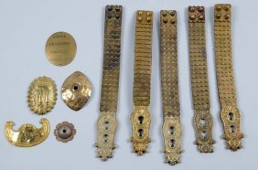 Lot Of 10: Assorted Armor Adornments