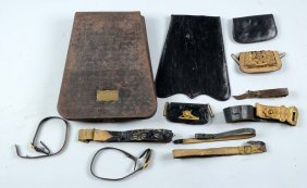 Tin Carrying Case Of Capt. Campbell.