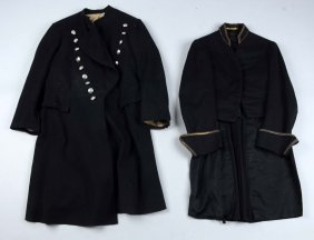 Lot Of 2: Frock Coat & Tailcoat.