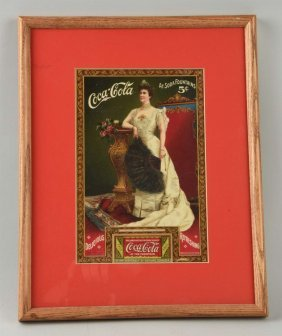 Early Coca-cola Coupon.