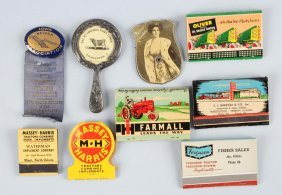 Lot Of 9: Misc. Advertising Items.