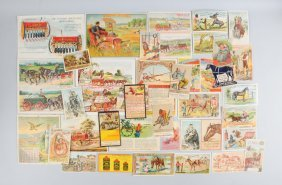 Lot Of 20+: Agriculture Brochures & Trade Cards.
