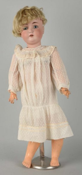 Antique German Bisque Head Doll.
