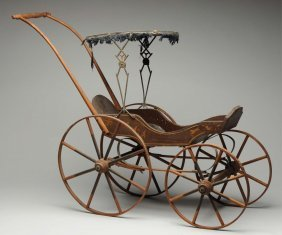 Joel Ellis-type Doll Carriage.