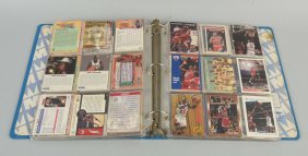 Large Lot Of Basketball And Baseball Cards.