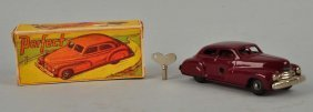 German Tin Litho Wind Up Perfect Car .