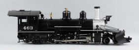 Accucraft Trains K-27 Mudhen Steam Locomotive.