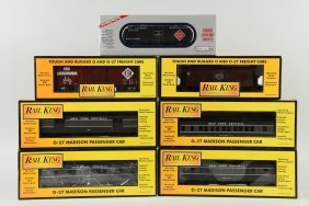 Lot Of 7: Mth & Williams Rolling Stock.