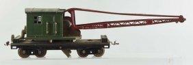 Lionel Standard Gauge No. 219 Crane Car.