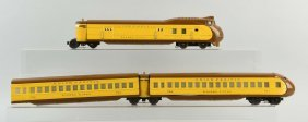 Lionel 752 Union Pacific Streamliner 3 Pc. Set.