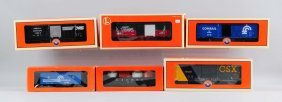 Lot Of 6: Rolling Stock.