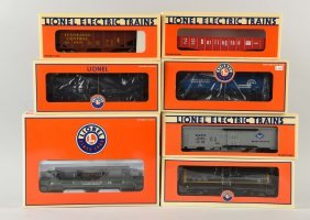 Lot Of 7: Lionel Freight Cars.