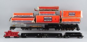 Lot Of 8: Lionel Post War Engines & Rolling Stock.