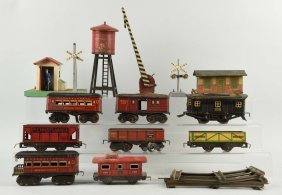 Large Lot Of American Flyer Rolling Stock