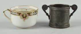 Lot Of 2: Handled Cups.