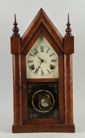 Wooden Steeple Clock.