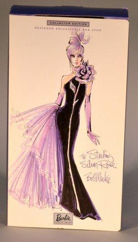 Bob Mackie Sterling Silver Rose Barbie