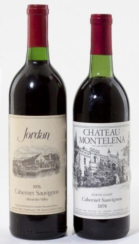 1976 Chateau Montelena & Jordan